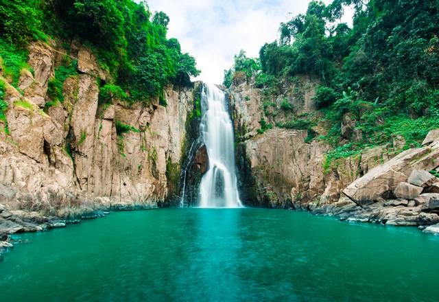 Haew Narok Waterfall in Nakhon Ratchasima Thailand