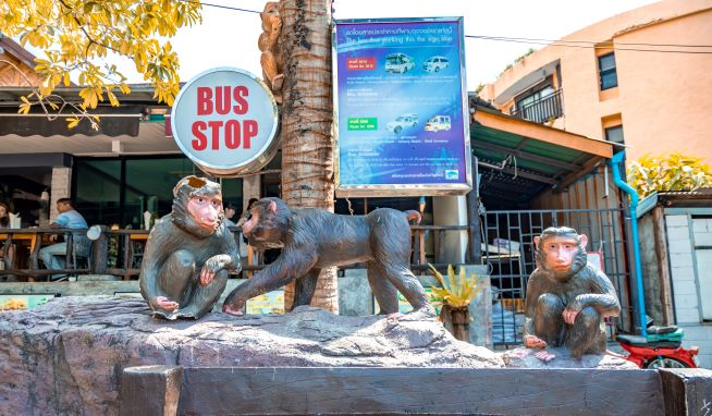 Bust stop for public transport