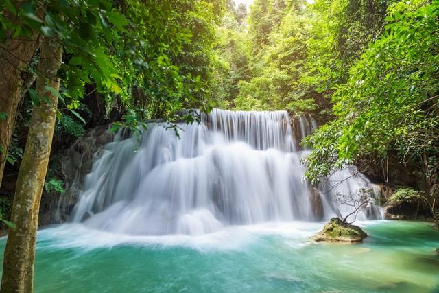 Huai Mae Khamin Waterfall level 3