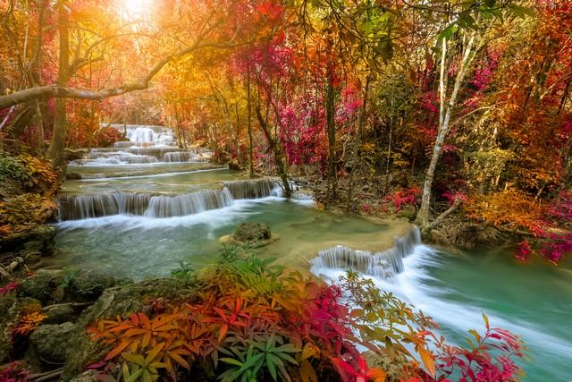 Huai Mae Khamin Waterfall tier things to do