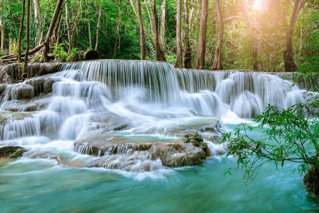 Huay Mae Khamin Waterfall level 6