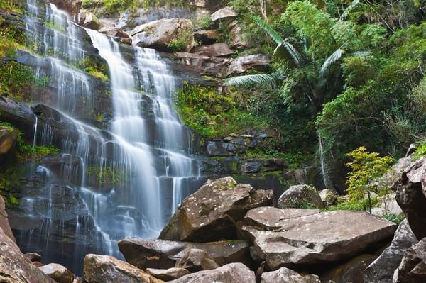 Khun Pong Waterfall at Loei Thailand