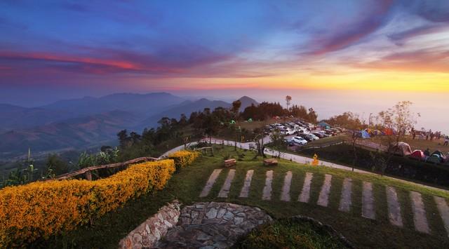 Khun Sathan National Park at Nan