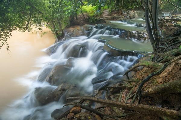 Klong Thom Hot Spring Waterfall in Krabi