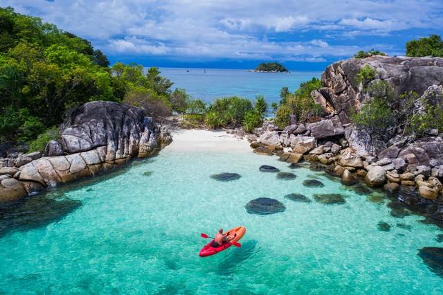Koh Kra island in Thailand