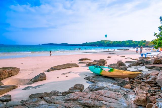 Koh Samet Island in Rayong Thailand
