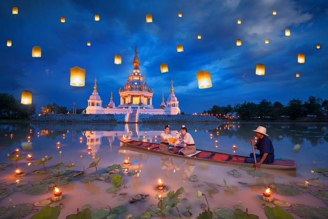 History of Loy Krathong Featival in Thailand
