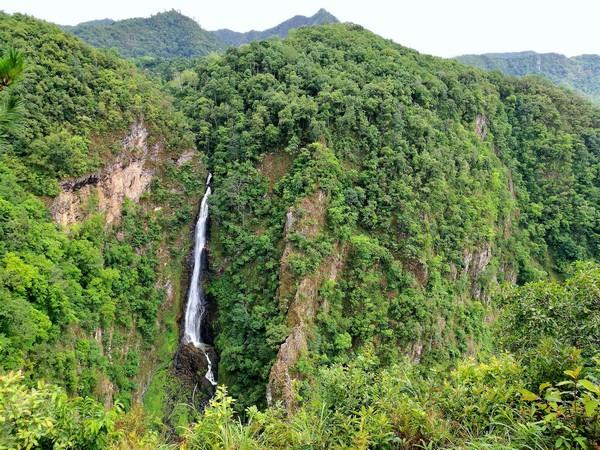 Mae surin waterfall in Maehongson Thailand
