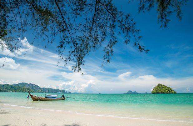 Nopparat Thara Beach in Krabi