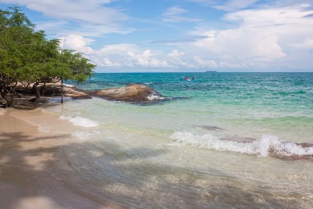 Part of Sang Thian beach, Samet island, Thailand
