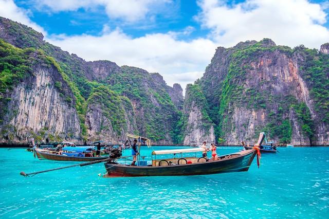 Phi Phi Island or Koh Phi Phi in Krabi Thailand