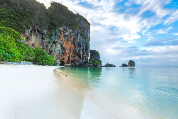 Phra Nang cave beach in Krabi, Thailand