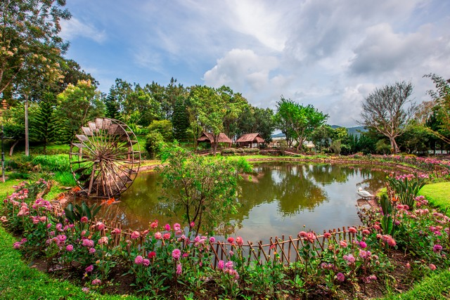 Royal Agricultural Station Inthanon-beautiful garden decoration