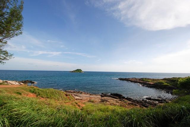 Seascape from Ao Pakarang (Coral bay)
