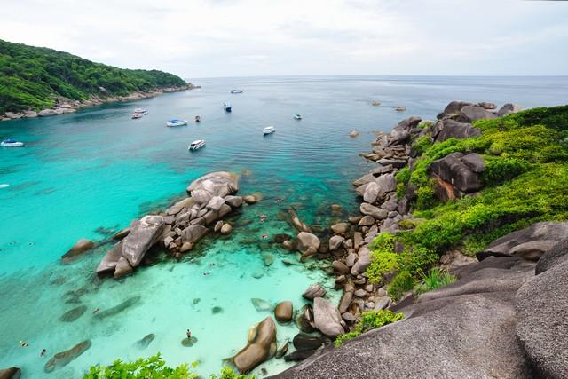 Similan Islands National Park in Phang Nga Thailand