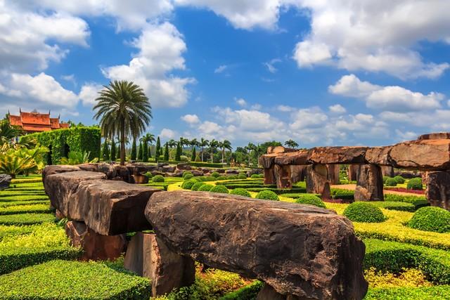 Stonehenge in Nong Nooch Botanical Garden Pattaya