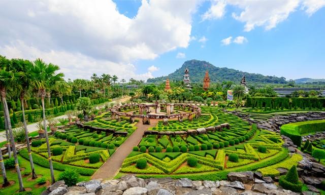 Suan Nong Nooch Pattaya in Chonburi Thailand