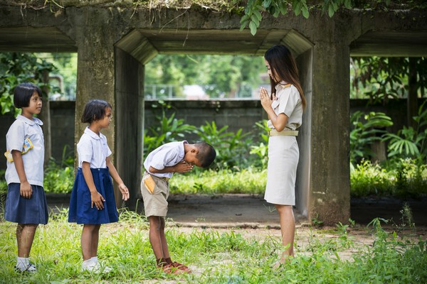 The Second Level of Thai greeting