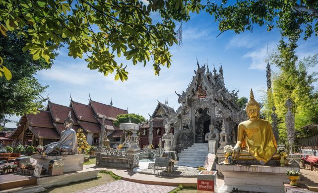 Top 10 temples in Chiang Mai-Wat Sri Suphan