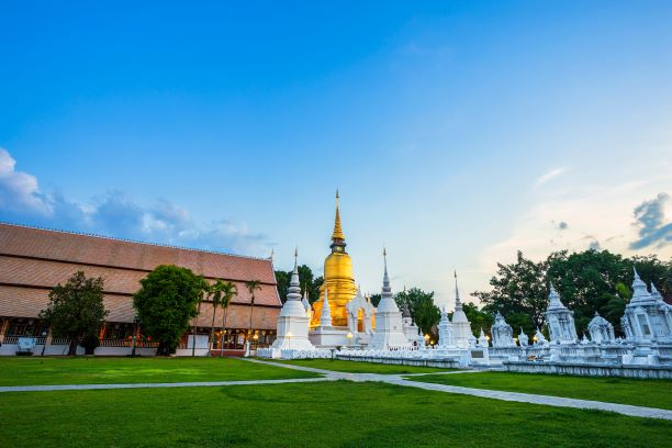 Top 10 temples in Chiang Mai-Wat Suan Dok