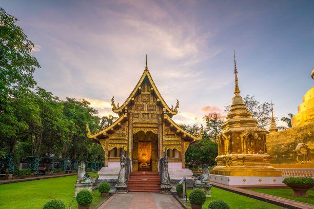 Ubosot of Wat Phra Singh in Chiang Mai