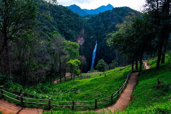 View of Mae Surin Waterfalls, Khun Yuam District, Mae Hong Son