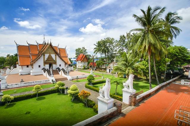 Wat Phumin in nan north of thailand
