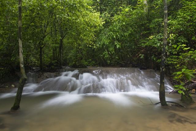 Waterfall called 'Pad-Siean'