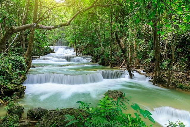 Waterfall level 1