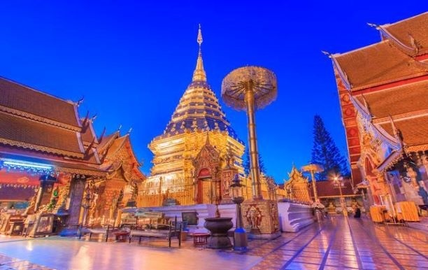 What to See at Wat Phra That Doi Suthep in Chiang Mai, Thailand