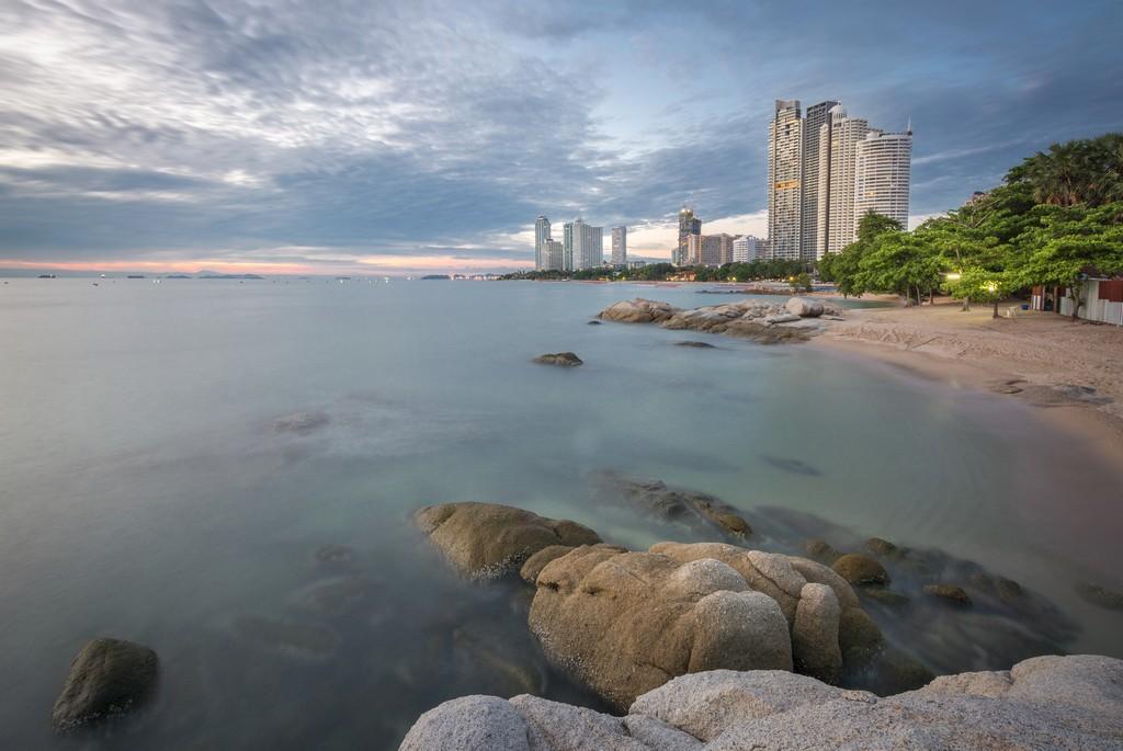 Wong Amat Beach in Pattaya Thailand