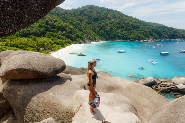 Wong Chang Bay- view point of eight island