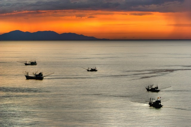 fishing boats and storms in the deepfields