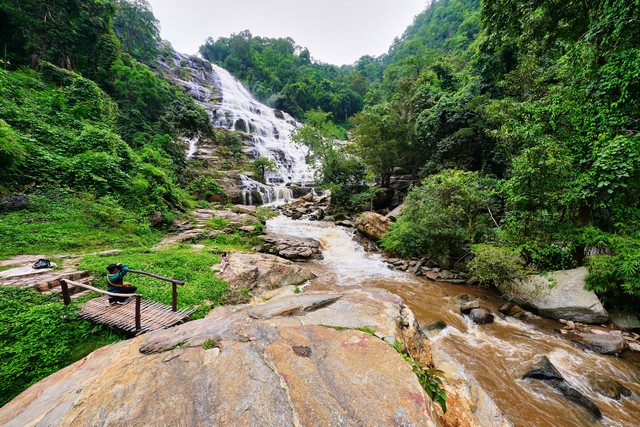 one of the most magnificent waterfalls in Thailand