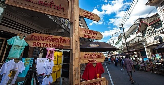 Takua Pa Walking Street