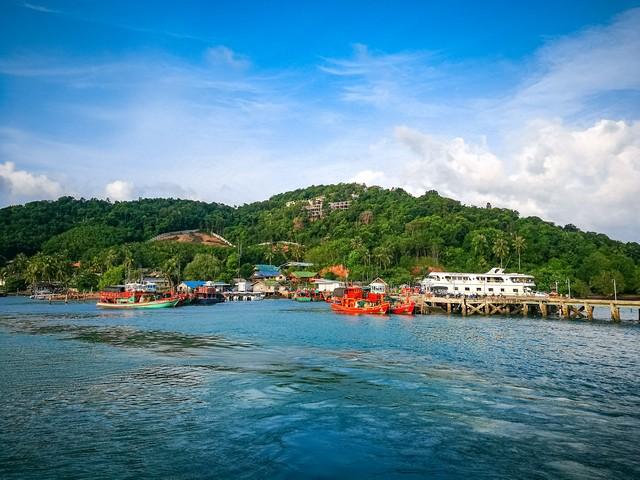 Baan laem yai harbor at Koh Yao Yai island
