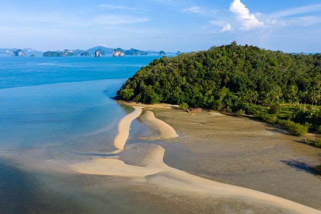 Lo Ha Beach sandy beach in Phang Nga