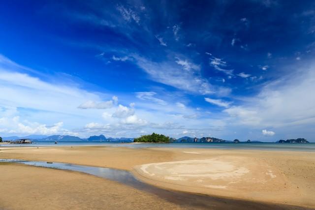 Sea view at Koh Yao Noi , Phang Nga, THAILAND
