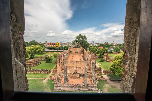 View from above, from the amount Phra prang