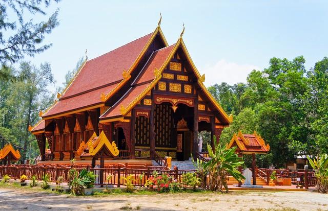 Wat Tha Sai (Temple),Thai Muang, Phang Nga, Thailand