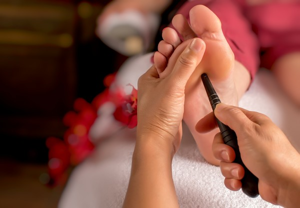 Principles to do foot massage