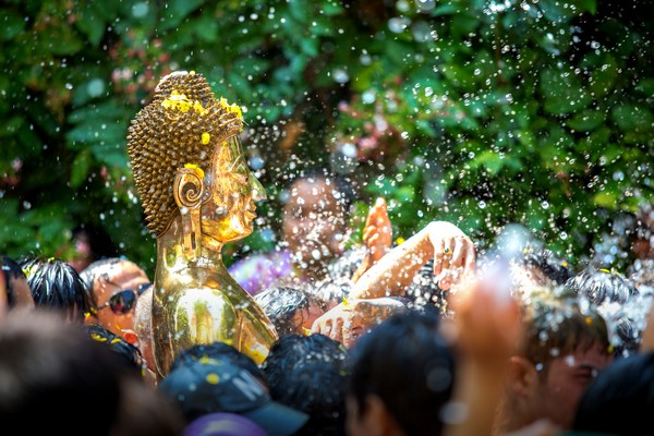 The story of Songkran Goddesses