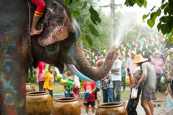 The Activities for Songkran Festival