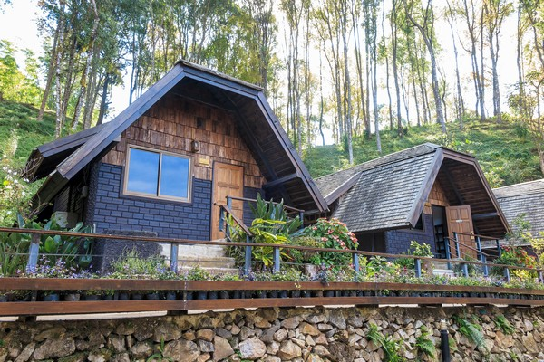 accommodation available at The Royal Agricultural Station Angkhang