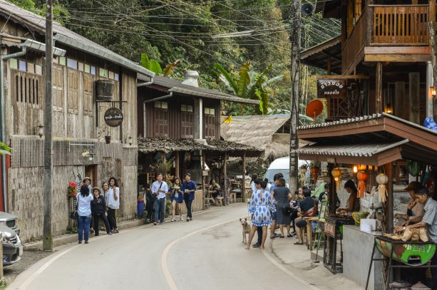 Ban Mae Kam Pong is a homestay eco-tourism destination in Chiang Mai