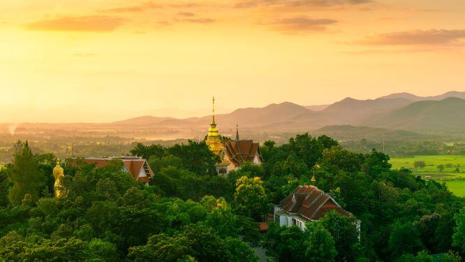 Doi Suthep Pui Mountain in Chiang Mai