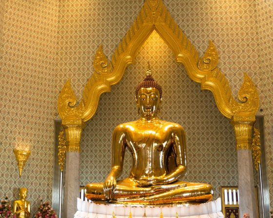 Biggest Golden Buddha Image in the World