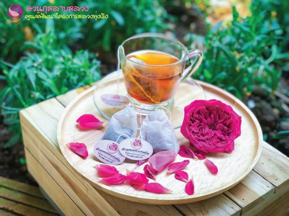 Rose-Tea-from-Thung-Roeng-Project-in-Chiang-Mai