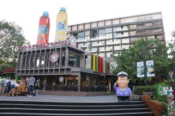 Think Park Nimman owned by the celebrated billionaire Tan Passakornnatee