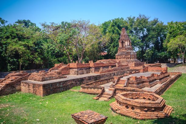 Wat Pu Pia in Wiang Kum Kam